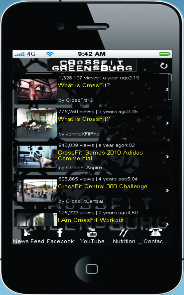 App crossfit greensburg screenshot 2